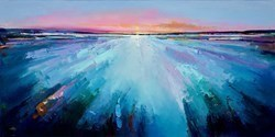 Reflected Sunset I by Anna Gammans -  sized 39x20 inches. Available from Whitewall Galleries